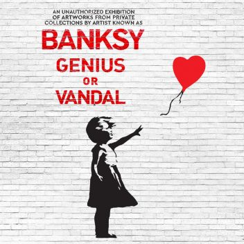 BANKSY – Genius or vandal?